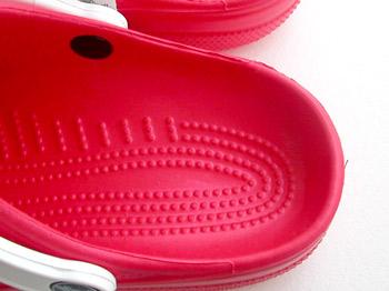 crocs beach ヒールカップ
