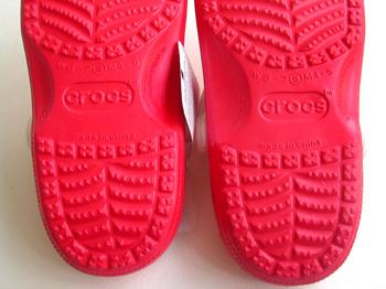 crocs beach アウトソール