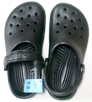 crocs cayman ケイマン 上から